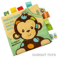 Dazzle Dots Monkey Soft Book
