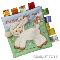 Dazzle Sherbet Lamb Soft Book