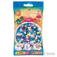 Hama Beads - Single Colour - Translucent Brown (25