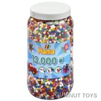 Hama Beads - Tub 13000pcs - Bold (00)