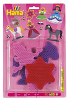 Colour Pegboards - Princess/ Horse/ Star