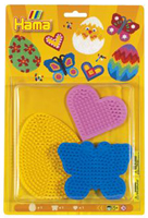 Colour Pegboards - Butterfly/ Heart/ Egg