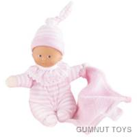 Baby Doll - Minireves Pink Stripes