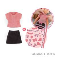 Ma Cherie Creation T Shirt and Skirt set