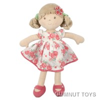 Scarlet Flower Kid Doll