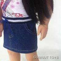 Australian Girl - Denim Skirt
