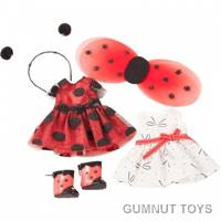 Just Like Me Doll - Ladybug Outfits