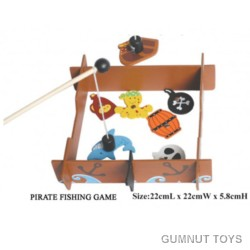 Magnetic Pirate Fishing Game