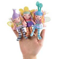Set of Beneath the Leaf Finger Puppets