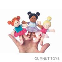 Set of Ballerina Finger Puppets