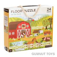 Floor Puzzle - On The Farm