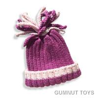 Rib Hat - Mulberry
